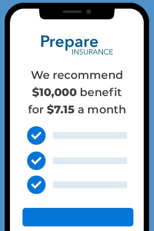 Prepare Insurance Iphone Quote
